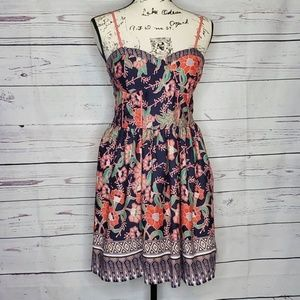 Band of Gypsies Dresses - Band of Gypsies Floral Bodice Dress Size Large